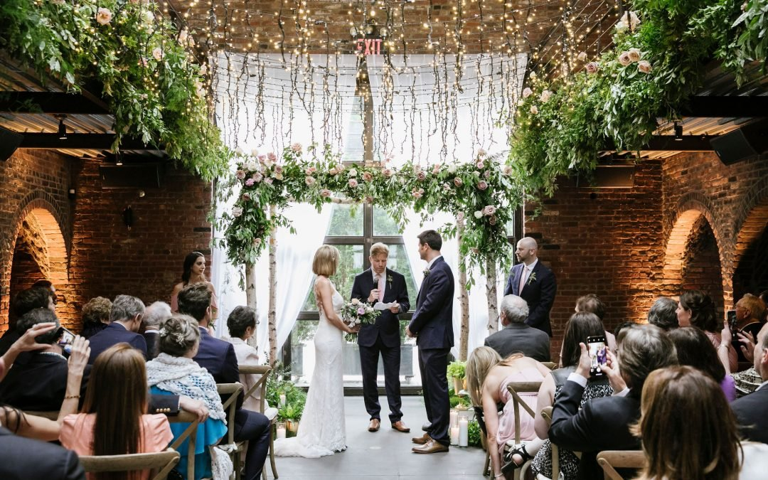 Tara & Ray Get Married at The Foundry